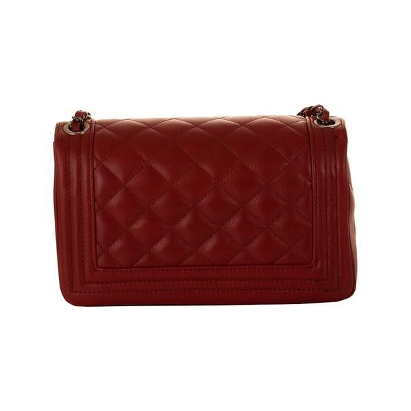 Skórzana torebka Andrea Cardone 2033 Ruby Red