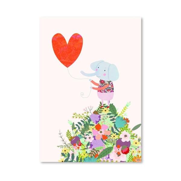 Plakat (projekt: Mia Charro) - Elephant Heart
