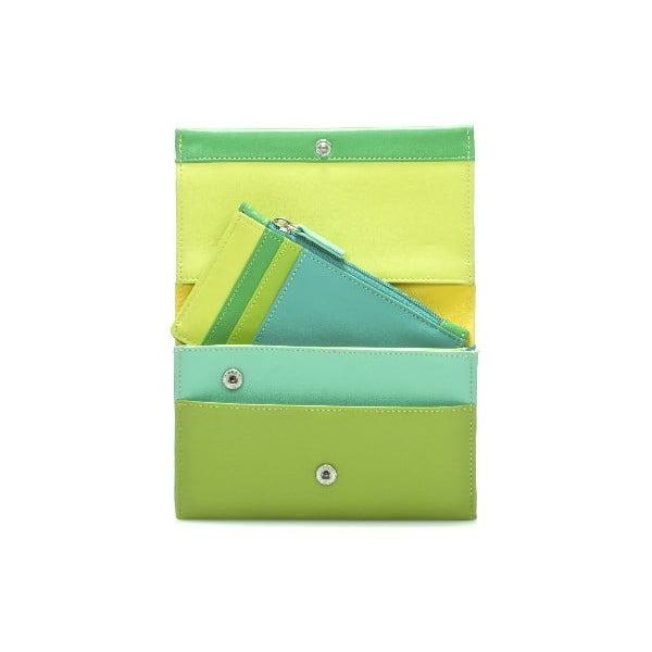 Portfel i etui na karty kredytowe Green
