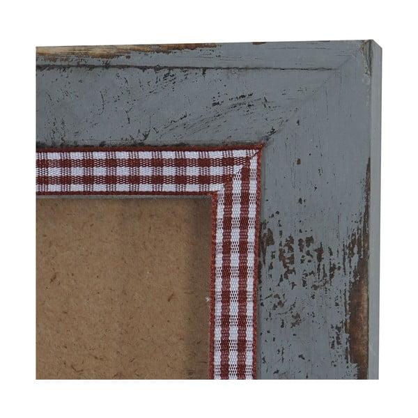 Szara ramka na zdjęcia Mendler Shabby, 26x36 cm