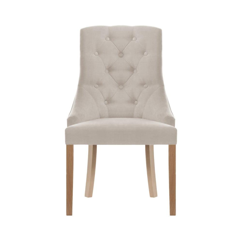 Kremowe krzesło Jalouse Maison Chiara
