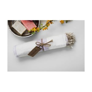 Ręcznik hamam Shirred Lilac, 100x180 cm