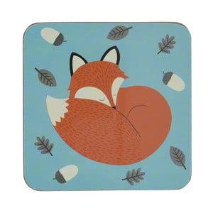 Dziecięca podstawka pod kubek Rex London Rusty The Fox, 10,5x10,5 cm