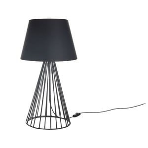Lampa stołowa Wiry Black/Black