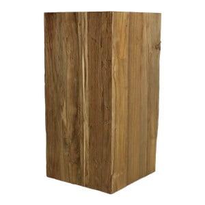 Stołek z drewna tekowego HSM Collection Pillar