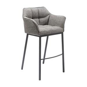 Szary stołek barowy Kare Design Thinktank