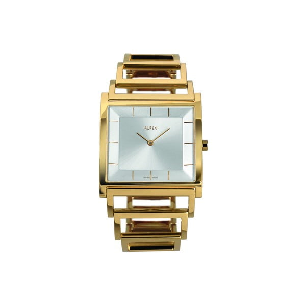 Zegarek damski Alfex 5694 Yelllow Gold/Yellow Gold