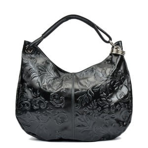 Czarna torebka skórzana Renata Corsi Violetta