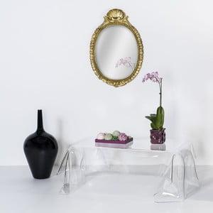 Stolik Drappeggi Tavolino Transparente