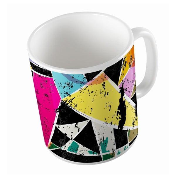 Ceramiczny kubek Crazy Pattern, 330 ml