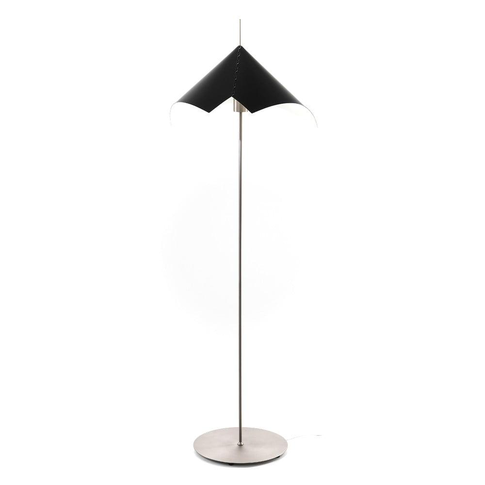 Lampa stojąca z dwustronnym kloszem Tomasucci