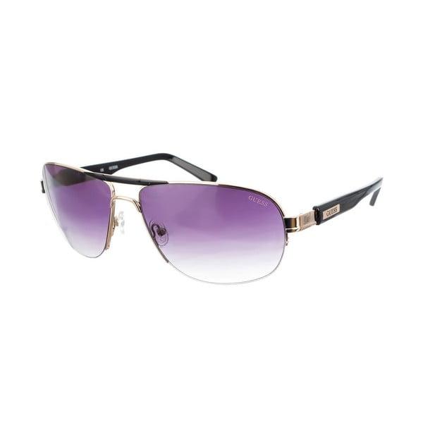 Męskie okulary przeciwsłoneczne Guess 798 Gold Black