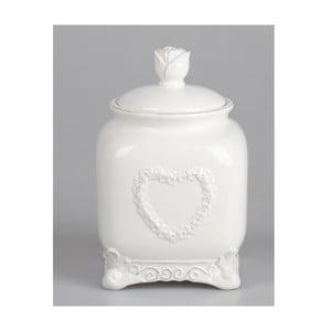 Ceramiczny pojemnik Cuore, 18 cm