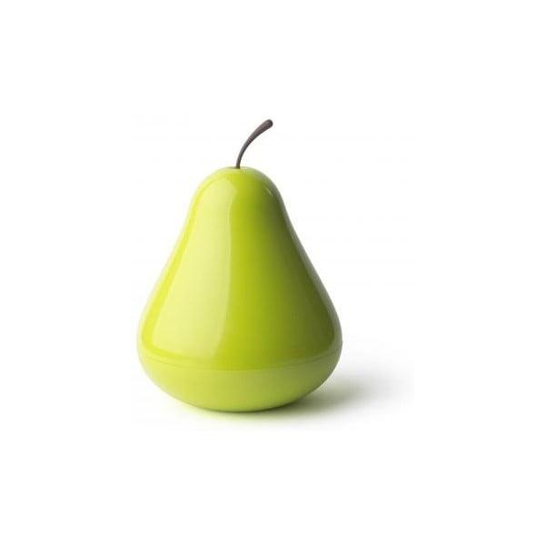 Wielofunkcyjna miska z przykrywką QUALY Pear Pod, zielona