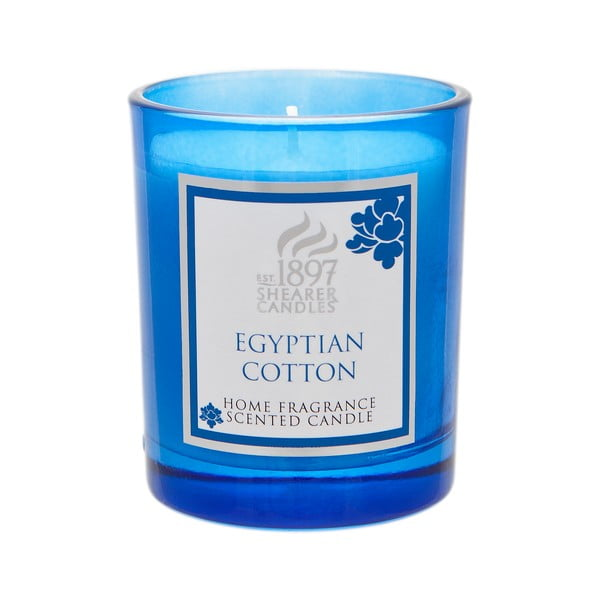 Świeczka zapachowa Coloured 30 godzin palenia, aromat egipskiej bawełny