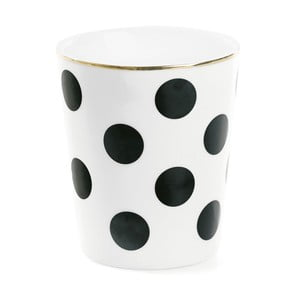 Kubek ceramiczny Miss Étoile Big Black Dots