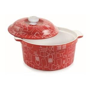Ceramiczne naczynie do zapiekania z pokrywką Red Teglia