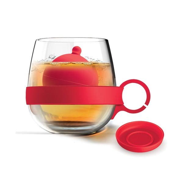 Kubek Tea Ball, czerwony