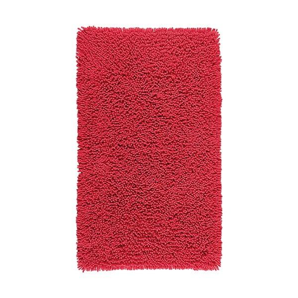Dywanik łazienkowy Nevada 60x100 cm, czerwony