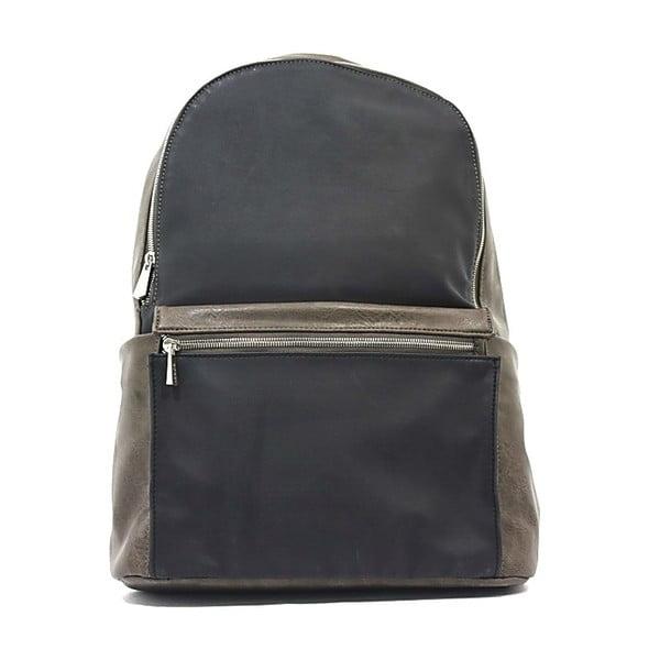 Plecak Bobby Black - Khaki, 33x47 cm