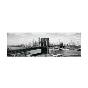 Obraz The Brooklyn Bridge NYC, 1938, 100x33 cm