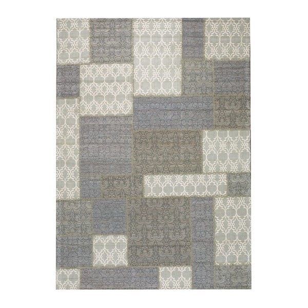 Dywan Patchwork Light Grey, 140x200 cm