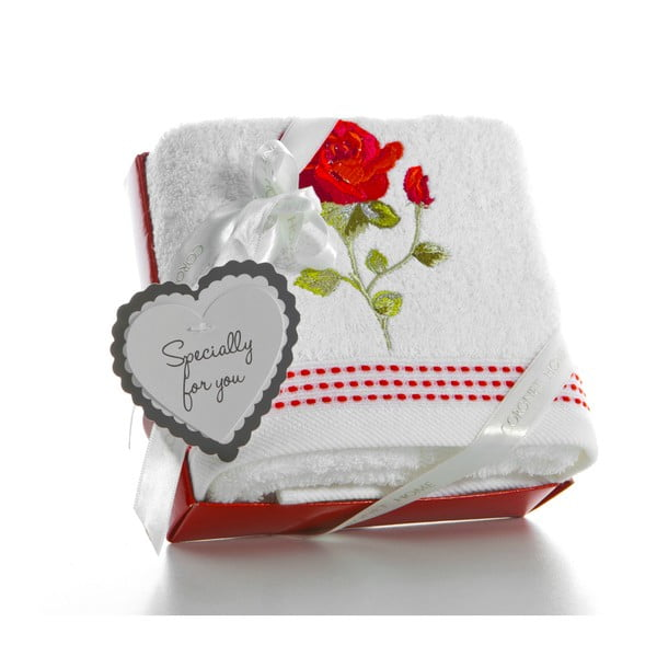 Ręcznik w opakowaniu podarunkowym Cortek V4, 50x90 cm