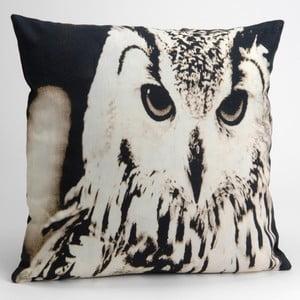 Poduszka z wypełnieniem Owl, 40x40 cm