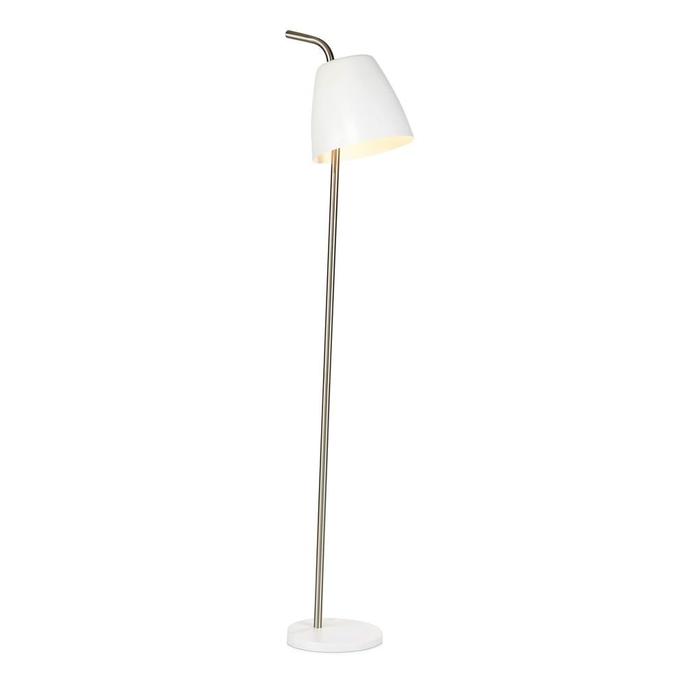 Biała lampa stojąca Markslöjd Spin Floor White