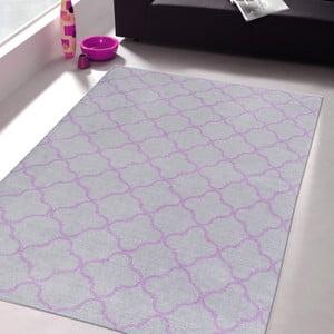 Wytrzymały dywan kuchenny Webtapetti Trellis Silver, 60x150 cm