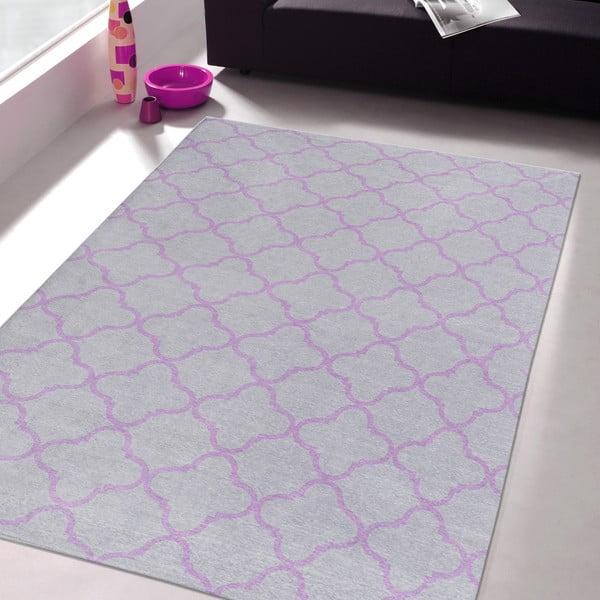 Wytrzymały dywan kuchenny Webtapetti Trellis Silver, 60x220 cm