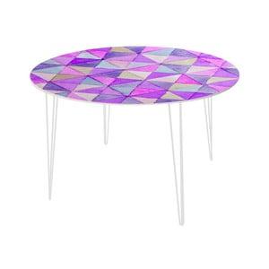 Stół do jadalni Triangle Mosaic, 120 cm