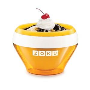 Pomarańczowa maszynka do lodów Zoku Ice Cream