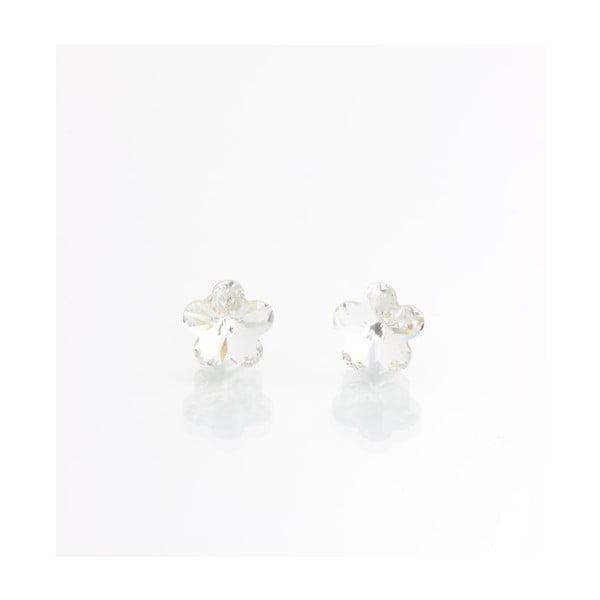 Kolczyki Swarovski Flower Crystal, 9 mm