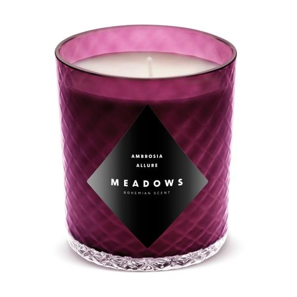 Świeczka Blackcurrant Leaves o zapachu porzeczki, winogron i mandarynki, 60 godz. palenia