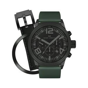 Zegarek unisex Marc Coblen z dodatkowym paskiem i obręczą P54