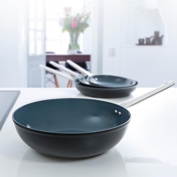Patelnia typu wok BK Cookware Induction Ceramic, 30cm