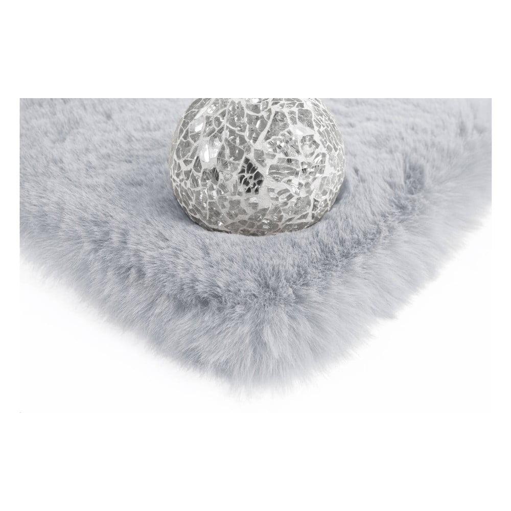 Szaroniebieski Dywan Wyszywany Ręcznie Arte Espina Rabbit 100 160x230 Cm Bonami