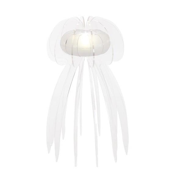 Lampa stołowa Jellyfish, biała