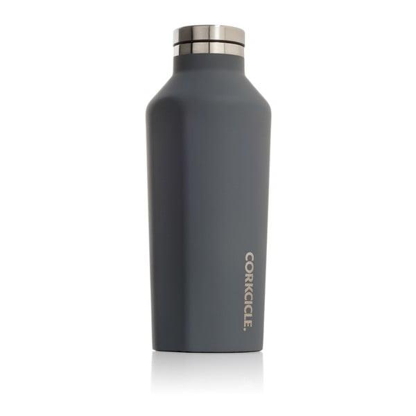 Szara butelka termiczna Corkcicle Canteen, 260 ml