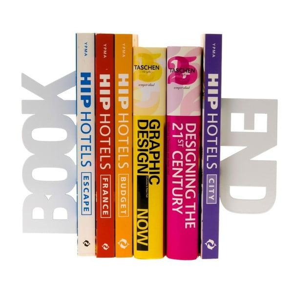 Podpórki do książek Bookend White
