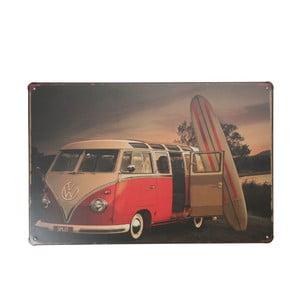 Tablica Surfer Volkswagen, 20x30 cm