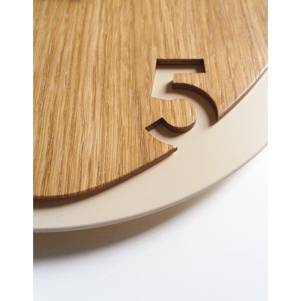Zegar Clock25 Light Wood
