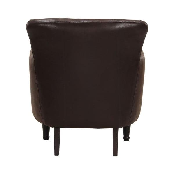 Fotel Dover Bufflo Dark Brown