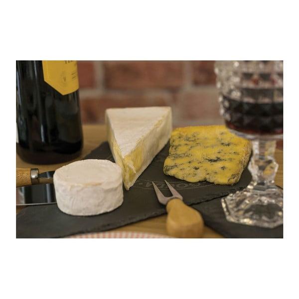 Deska i 3 noże do serwowania serów Premier Housewares Cheese Set