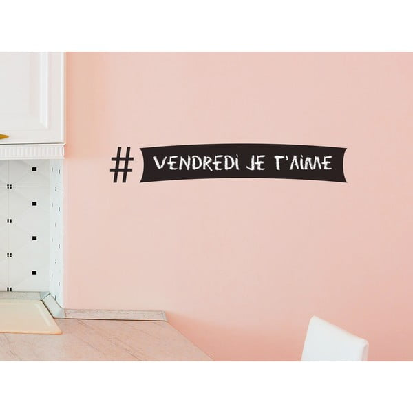 Dekoracyjna tablica samoprzylepna Hashtag