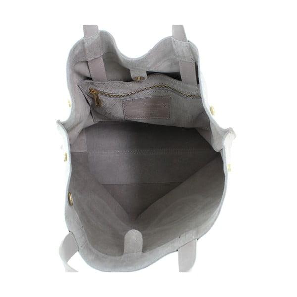 Skórzana torebka Wink, beżowa