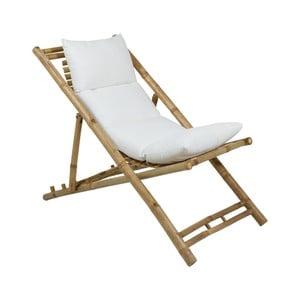Leżak bambusowy z siedziskiem Santiago Pons