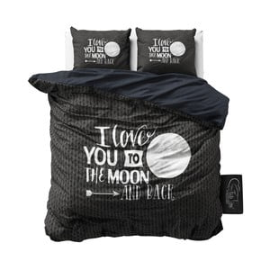 Pościel bawełniana Dreamhouse Moon and Back, 240x200cm