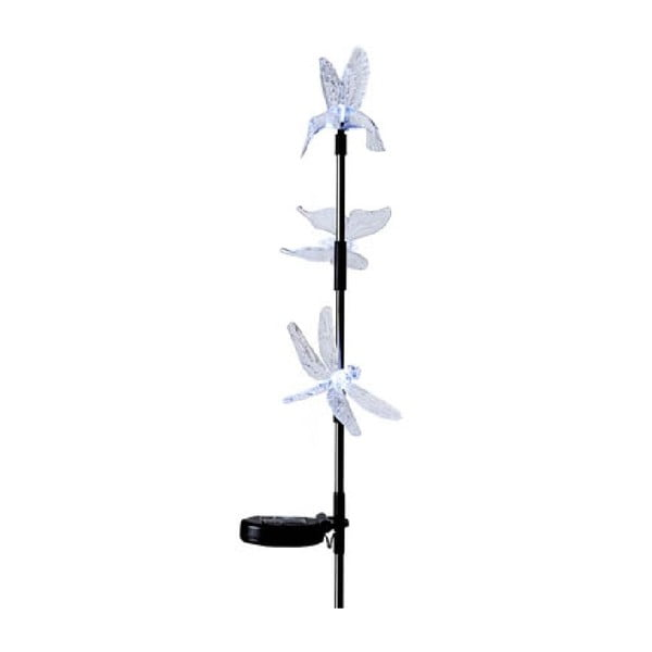 Dekoracja LED do zatknięcia w ogrodzie Hummingbird, 95 cm
